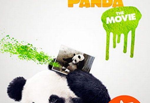 "Affiche du film ""Sneezing Baby Panda - The Movie"""