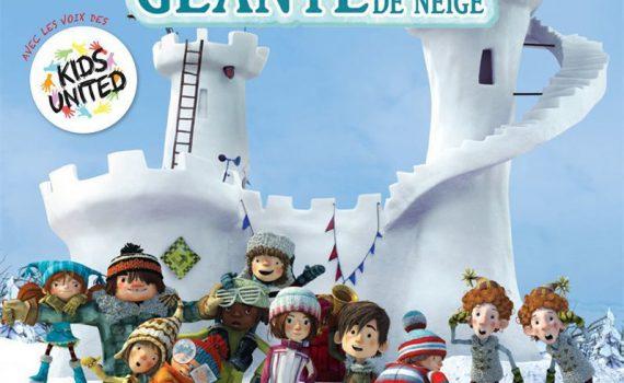 """Affiche du film """"LA BATAILLE GEANTE DE BOULES DE NEIGE"""""""