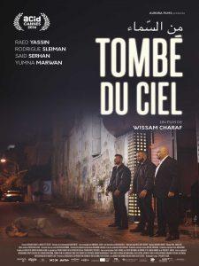 """Affiche du film """"Tombé du ciel"""""""