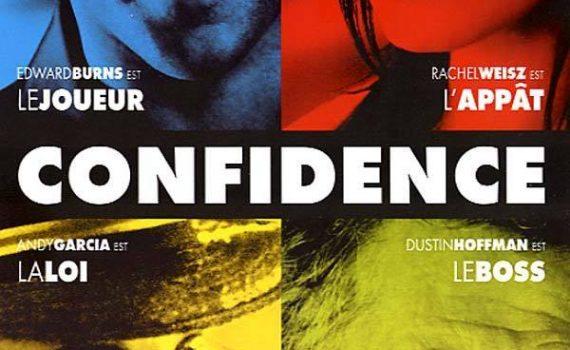 """Affiche du film """"Confidence"""""""