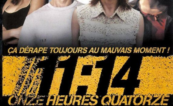 """Affiche du film """"11h14 : Onze heures quatorze"""""""