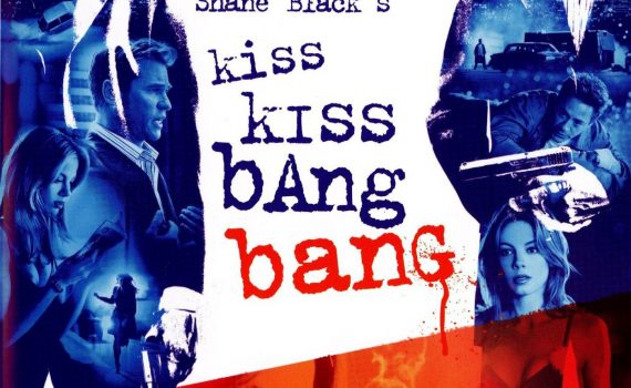 "Affiche du film ""Kiss Kiss Bang Bang"""