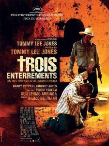 """Affiche du film """"Trois enterrements"""""""
