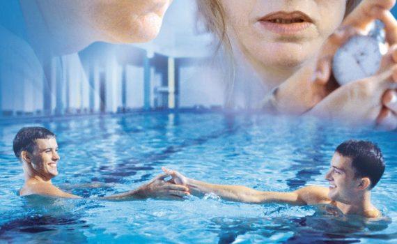 "Affiche du film ""Swimming Upstream"""