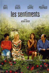 """Affiche du film """"Les Sentiments"""""""
