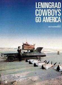 "Affiche du film ""Leningrad Cowboys go America"""