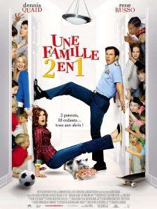"""Affiche du film """"Une famille 2 en 1"""""""