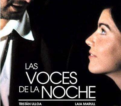 """Affiche du film """"Las voces de la noche"""""""