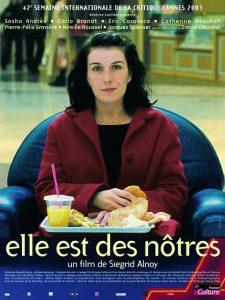"""Affiche du film """"Elle est des nôtres"""""""