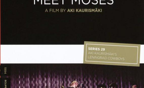 """Affiche du film """"Leningrad Cowboys rencontrent Moise"""""""
