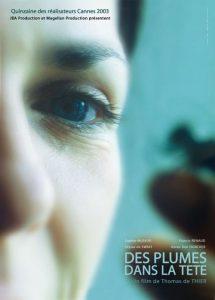 """Affiche du film """"Des plumes dans la tete"""""""