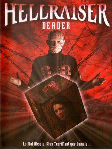 "Affiche du film ""Hellraiser 7 - Deader"""