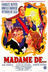 """Affiche du film """"Madame de…"""""""