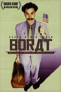"""Affiche du film """"Borat : Leçons culturelles sur l'Amérique au profit de la glorieuse nation Kazakhstan"""""""