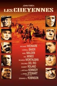 """Affiche du film """"Les Cheyennes"""""""
