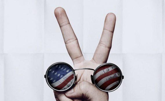 """Affiche du film """"Les U.S.A. contre John Lennon"""""""