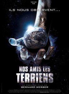 """Affiche du film """"Nos amis les Terriens"""""""