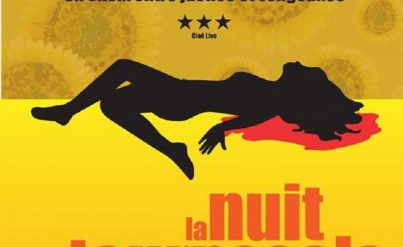 """Affiche du film """"La nuit des tournesols"""""""