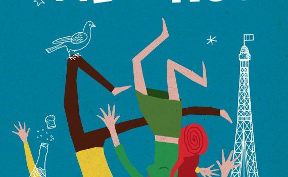 """Affiche du film """"Paris pieds nus"""""""