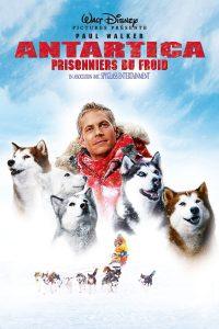 """Affiche du film """"Antartica, prisonniers du froid"""""""