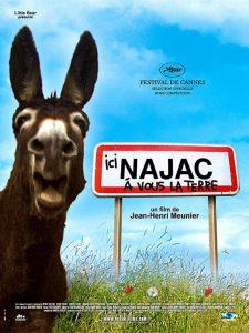 """Affiche du film """"Ici Najac, à vous la Terre"""""""