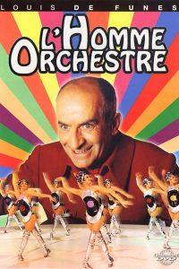 """Affiche du film """"L'homme orchestre"""""""
