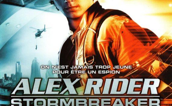 "Affiche du film ""Alex Rider: Stormbreaker"""