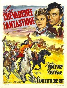 """Affiche du film """"La chevauchée fantastique"""""""