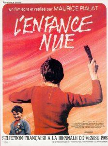 """Affiche du film """"L'enfance nue"""""""