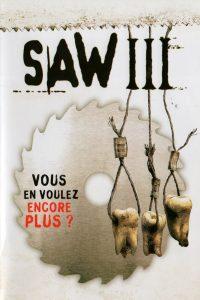 """Affiche du film """"Saw III"""""""