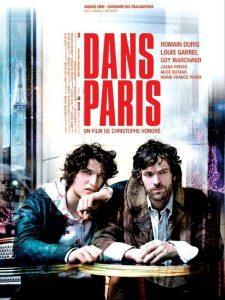 """Affiche du film """"Dans Paris"""""""