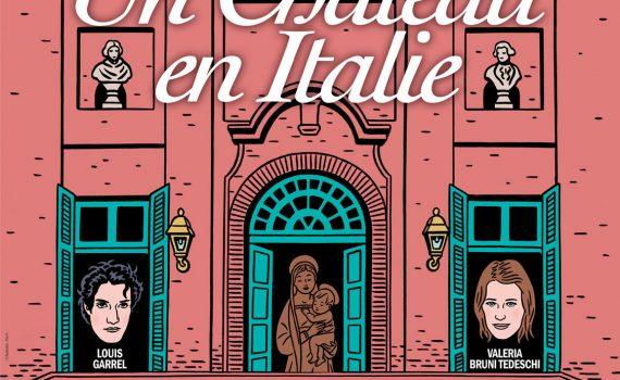 """Affiche du film """"Un château en Italie"""""""