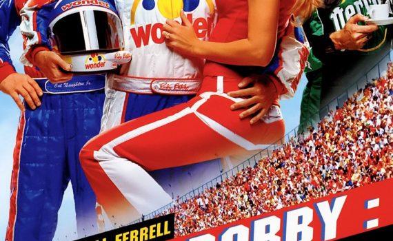 "Affiche du film ""Ricky Bobby : roi du circuit"""