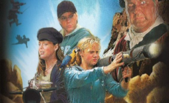 """Affiche du film """"Les enfants de l'île au trésor 1 - La bataille de l'île au trésor"""""""