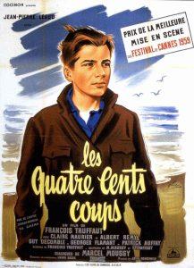 """Affiche du film """"Les Quatre Cents Coups"""""""