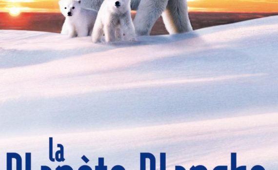 """Affiche du film """"La Planète blanche"""""""