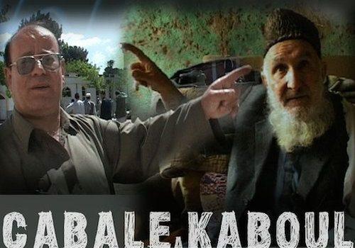 """Affiche du film """"Cabale à Kaboul"""""""