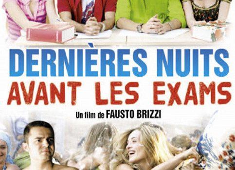 """Affiche du film """"Dernières nuits avant les exams"""""""