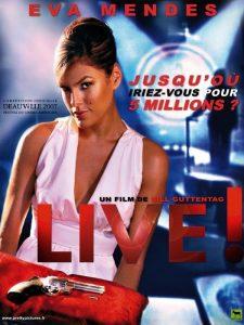 "Affiche du film ""Live !"""