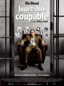 """Affiche du film """"Jugez-moi coupable"""""""