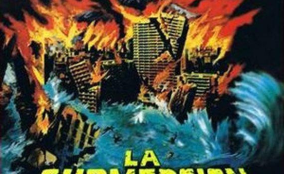 """Affiche du film """"La Submersion du Japon"""""""