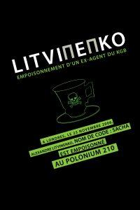 """Affiche du film """"Litvinenko, empoisonnement d'un ex agent du KGB"""""""