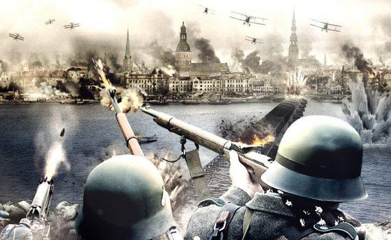 """Affiche du film """"La Bataille de la Baltique"""""""