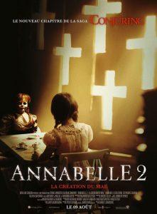 """Affiche du film """"Annabelle 2 : La Création du Mal"""""""
