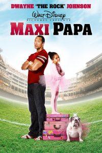 """Affiche du film """"Maxi Papa"""""""