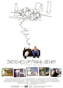 """Affiche du film """"Esquisses de Frank Gehry"""""""