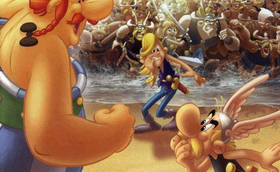 """Affiche du film """"Astérix et les Vikings"""""""