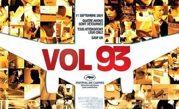 "Affiche du film ""Vol 93"""