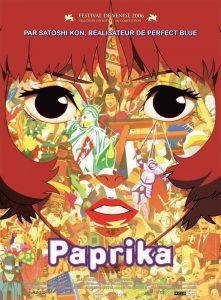 """Affiche du film """"Paprika"""""""