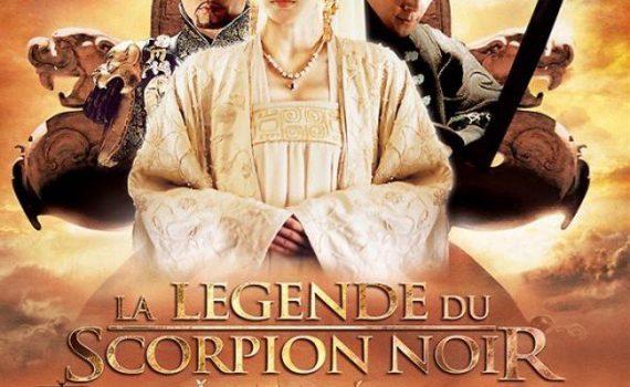 """Affiche du film """"La Légende Du Scorpion Noir"""""""